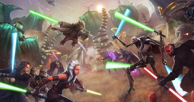 Games Like Star Wars: Force Arena