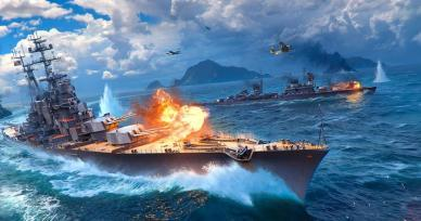 Games Like World of Warships Blitz