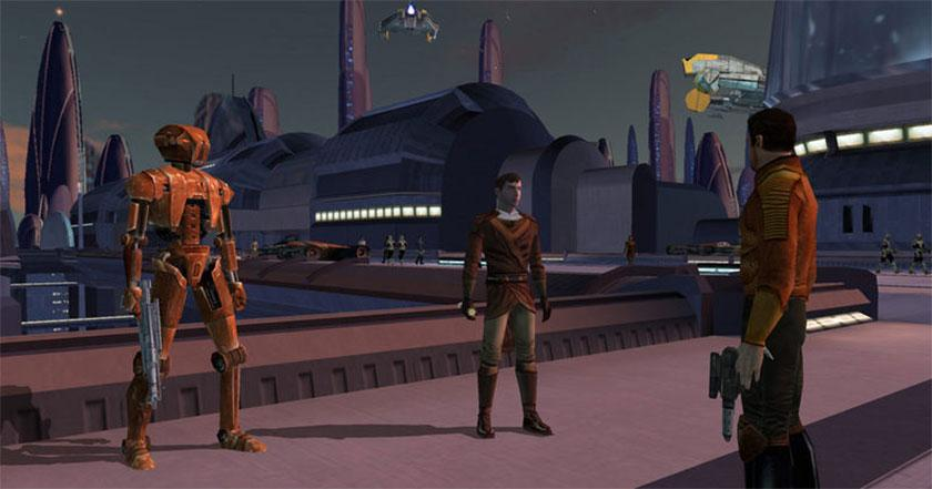 Games Like Star Wars - Knights of the Old Republic