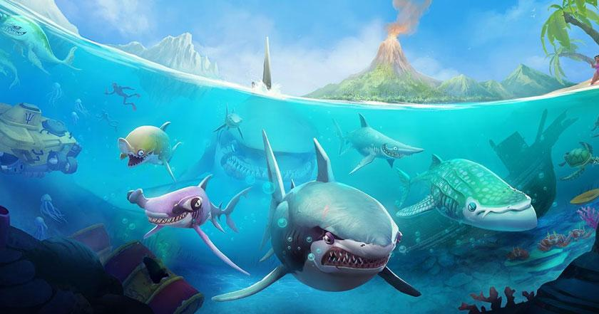 Games Like Hungry Shark Evolution