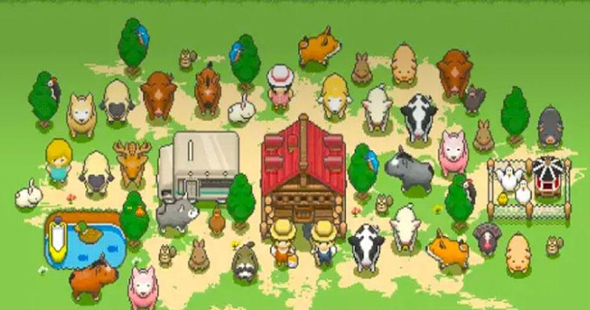 Games Like Tiny Pixel Farm