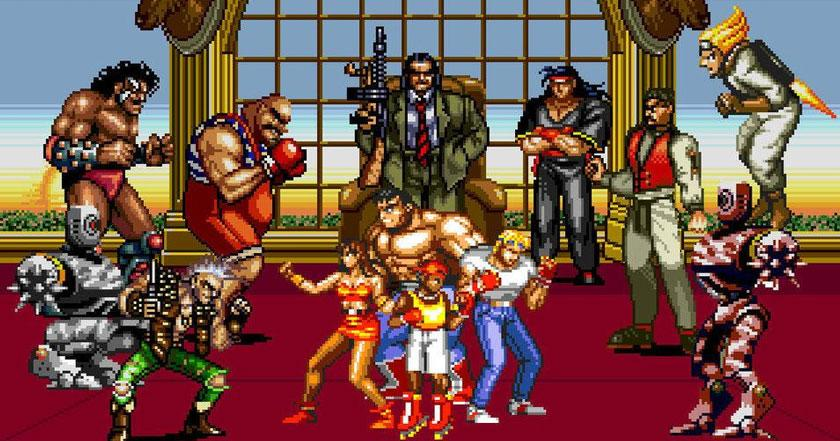 Games Like Streets Of Rage Classic