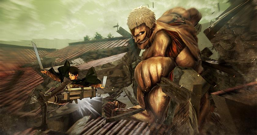 Juegos Como Attack on Titan