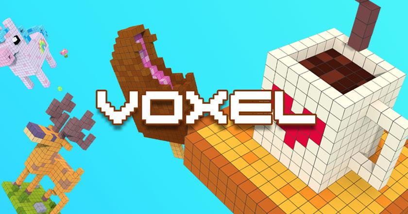 Games Like Voxel - 3D Color by Number