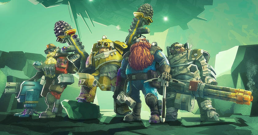 Games Like Deep Rock Galactic