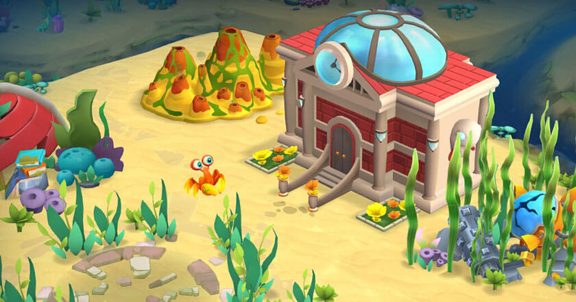 Games Like Undersea: Match & Build