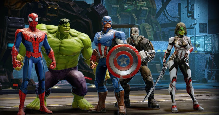 Games Like Marvel Strike Force
