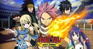 Games Like Fairy Tail: Hero's Journey