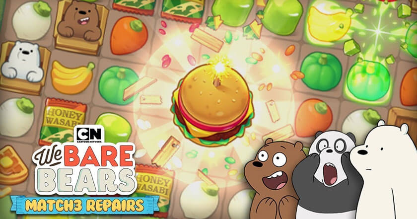 Games Like We Bare Bears Match3 Repairs