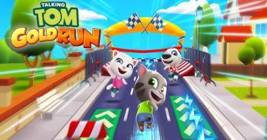 Games Like Talking Tom Gold Run