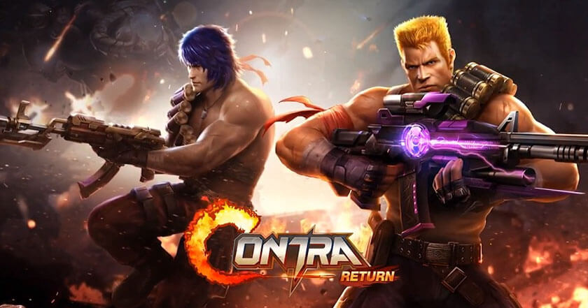 Games Like Garena Contra: Return