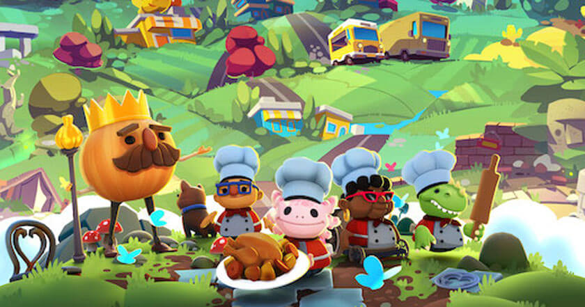 Games Like Overcooked! All You Can Eat