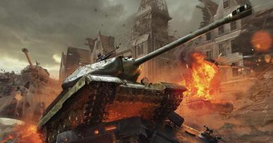 Games Like World of Tanks: Blitz