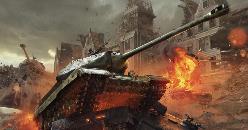Games Like World of Tanks: Blitz