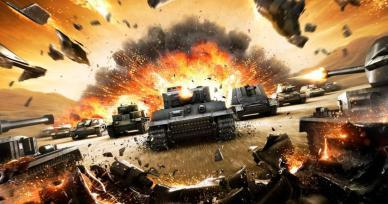 Games Like World of Tanks