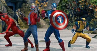Games Like Marvel Heroes Omega