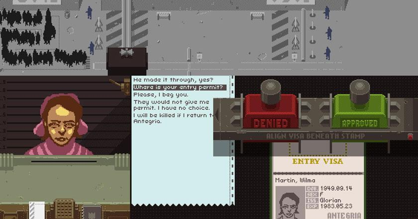 Games Like Papers Please