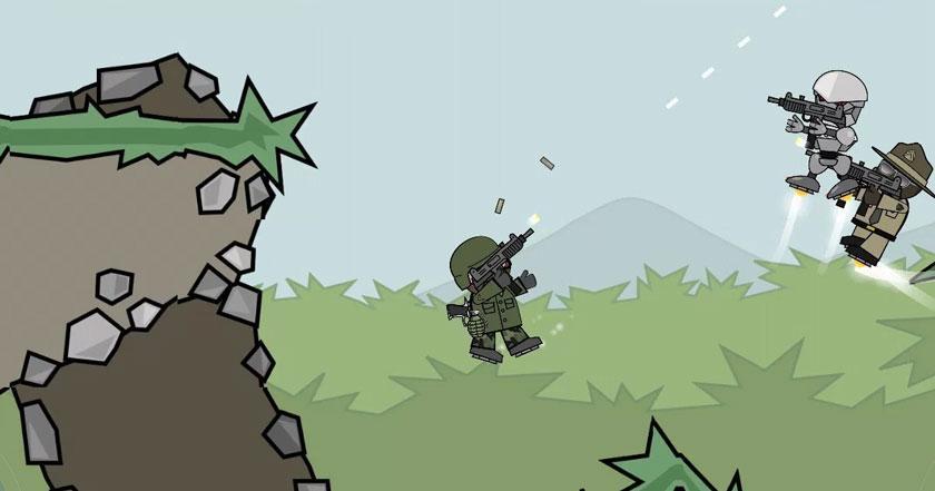 Juegos Como Doodle Army 2 : Mini Militia