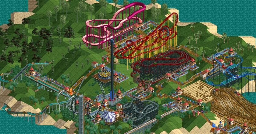 Games Like RollerCoaster Tycoon
