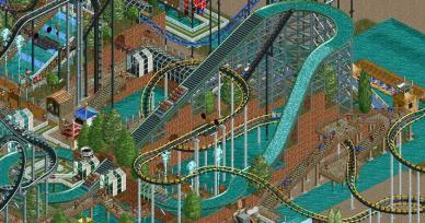 Jogos Como Rollercoaster Tycoon 2