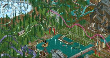 Jogos Como RollerCoaster Tycoon Classic