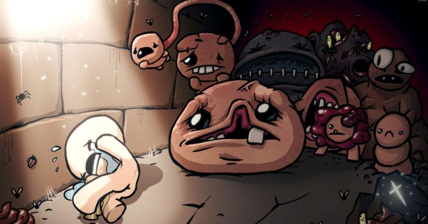Games Like The Binding of Isaac: Rebirth