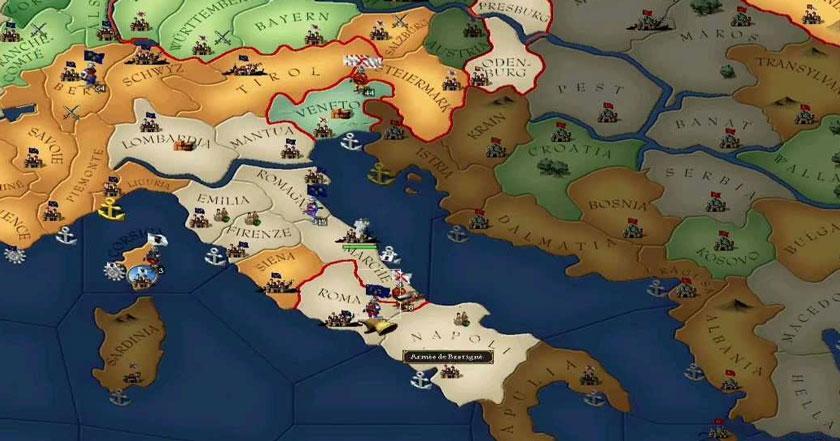 Games Like Europa Universalis II