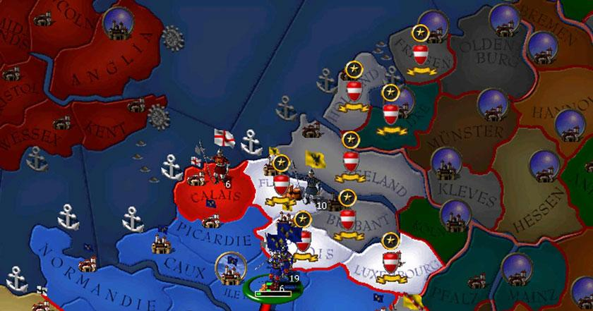 Games Like For The Glory A Europa Universalis Game