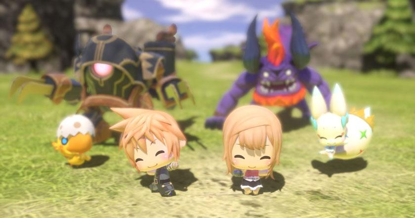 Jogos Como World of Final Fantasy