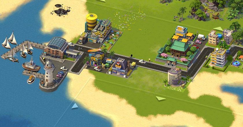 Games Like SimCity Social