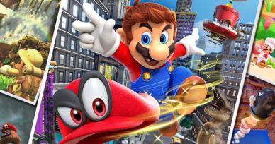 Games Like Super Mario Odyssey