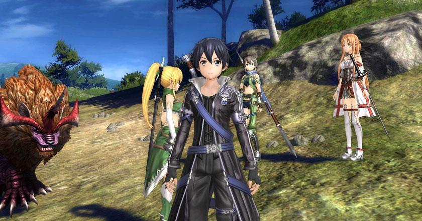 Juegos Como Sword Art Online: Hollow Realization