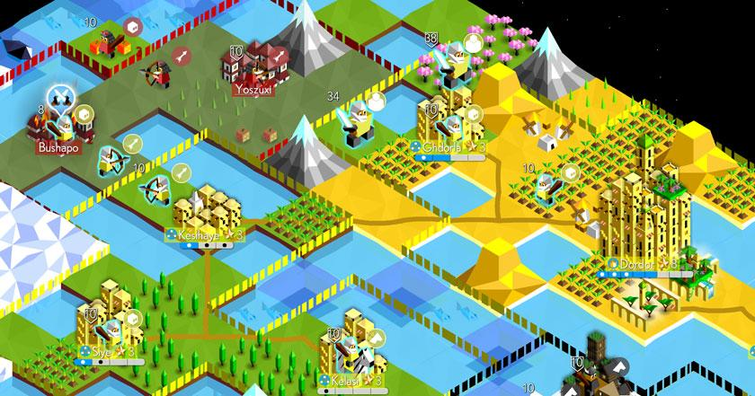 Games Like The Battle of Polytopia