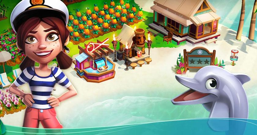 Games Like Farmville: Tropic Escape
