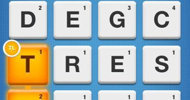 Games Like Ruzzle