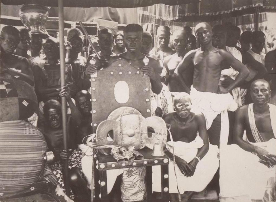 The Golden Stool A Throne With A Throne Of Its Own