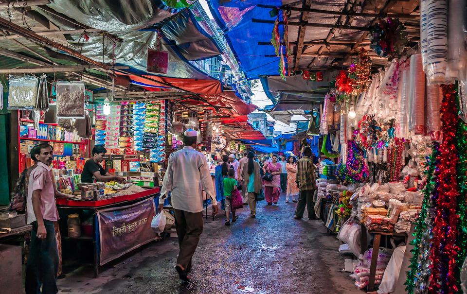 Street Markets Of Mumbai India