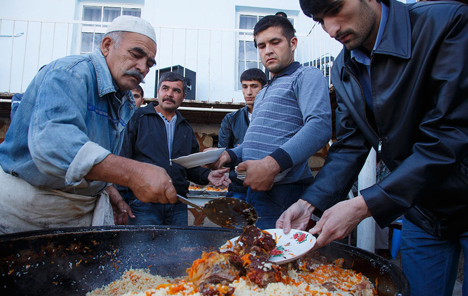 Street Food From Bukhara Uzbekistan