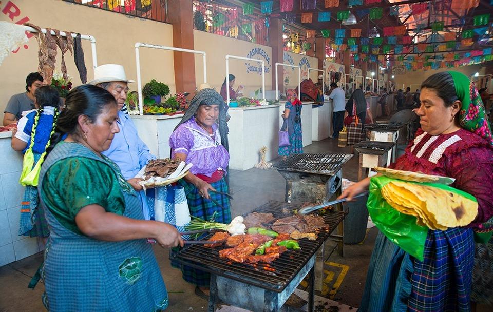 Street Food In Oaxaca Mexico