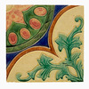Purnama Antique Art Nouveau Tile