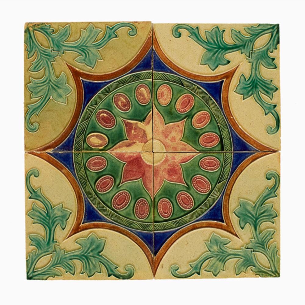 Dutch Floor Tiles Vinylmatte Flor De Lis Von Beija Flor