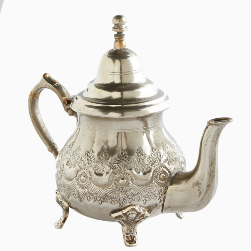 Vintage Silver Kawn Moroccan Teapot