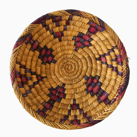 Protection Amp The Sea Moroccan Palm Bread Basket