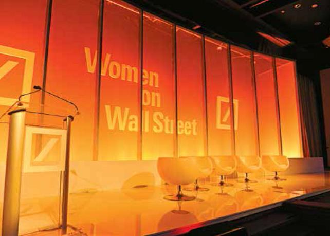 Deutsche Bank Women On Wall Street
