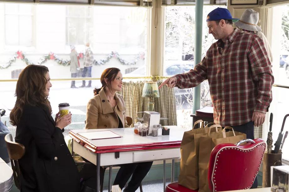 Gilmore Girls Lukes Cafe