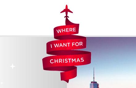 Virgin Where I Want For Christmas