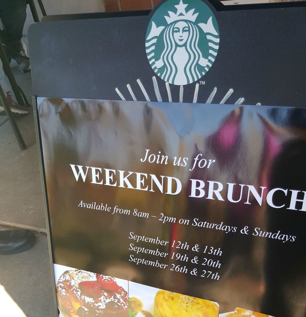 Starbucks Brunch
