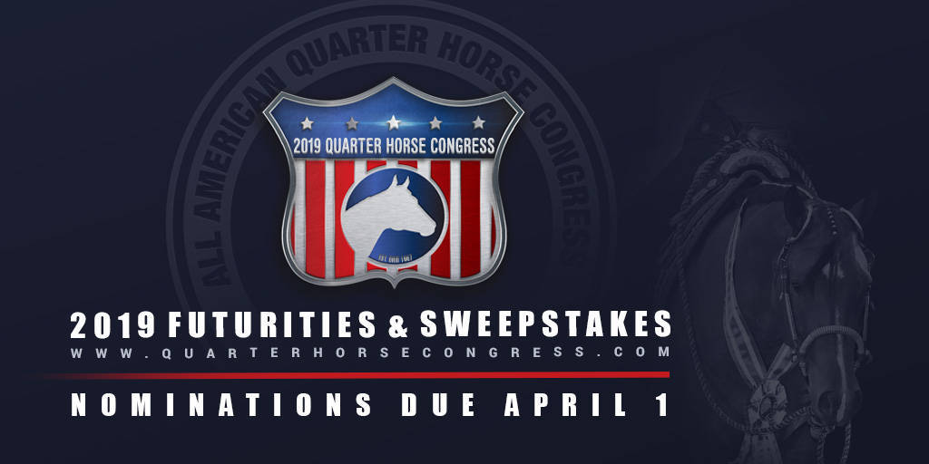2019 Futurities & Sweepstakes Entry Information is Now Available