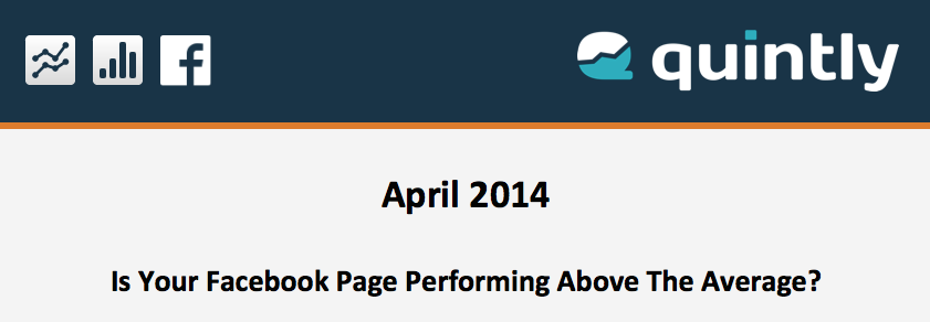 Average Facebook Performance April 2014