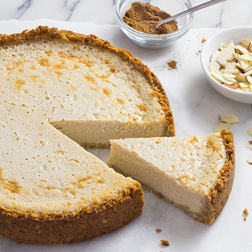 cinnamon almond california cottage cheese pie rh realcaliforniamilk com cottage cheese pie recipe uk pineapple cottage cheese pie recipe